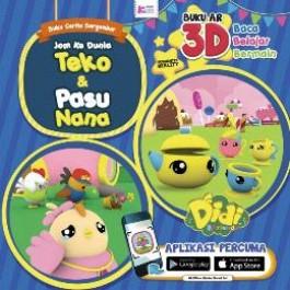 DIDI & FRIENDS : JOM KE DUNIA TEKO & PASU NANA