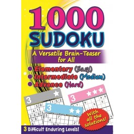 1000 SUDOKU: (YELLOW) A VERSATILE BRAIN