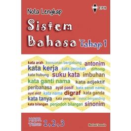 Primary 1-3 Nota Lengkap Sistem Bahasa BM Tahap 1