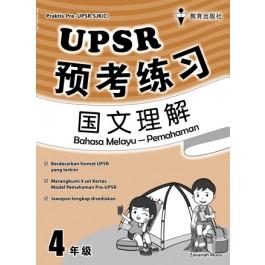 四年级UPSR预考练习国文理解