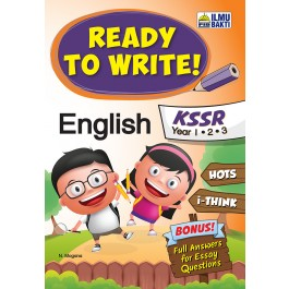 Tahun 1,2 & 3 Ready to Write! English