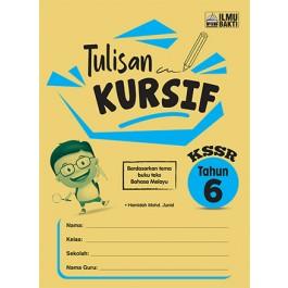 Tahun 6 Tulisan Kursif