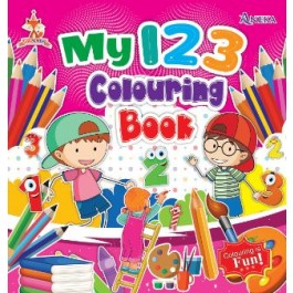 FOX SERIES - MY 123 COLOURING BOOK