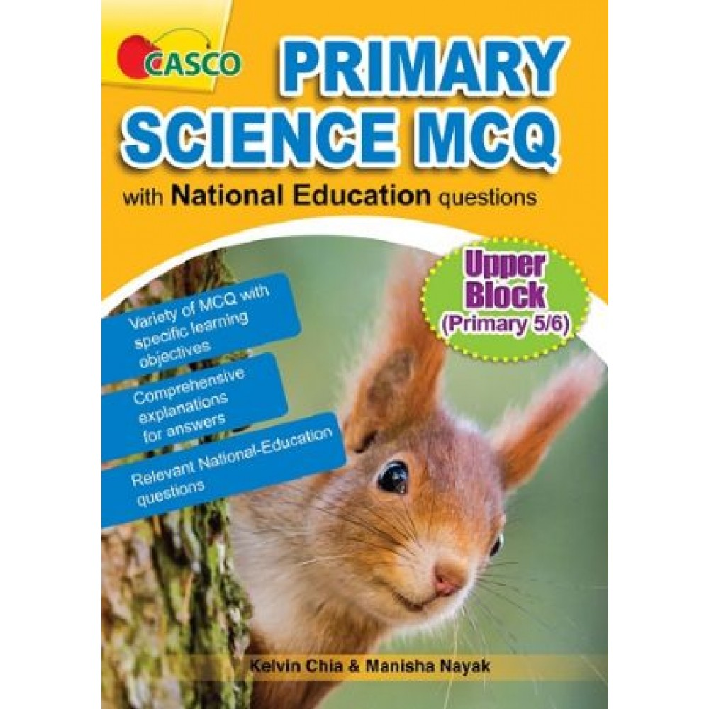 Primary 5 /6 Science MCQ With National Education Questions