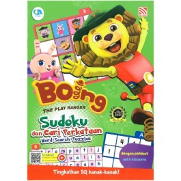 BOING THE PLAY RANGER: SUDOKU DAN CARI PERKATAAN (WORD SEARCH PUZZLES)