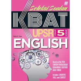 Tahun 5 Seleksi Soalan KBAT English