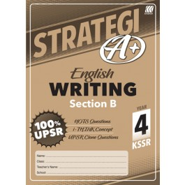 Tahun 4 Strategi A+ English Writing (Section B)
