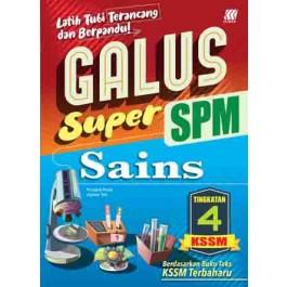 TINGKATAN 4 GALUS SPM SAINS
