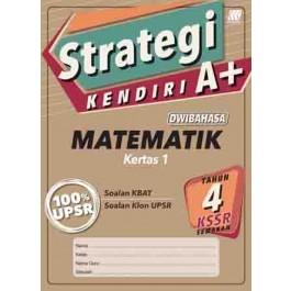 Tahun 4 Strategi Kendiri A+ Matematik Kertas 1