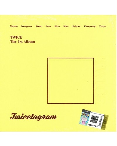 Twice - Twicetagram (1st Album) YELLOW - CD-Rama