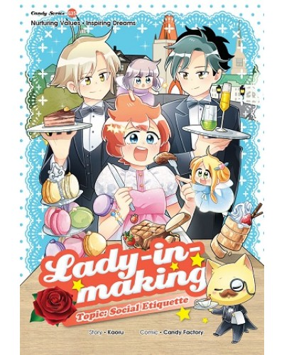 Candy Series 35 Lady In Making Social Etiquette