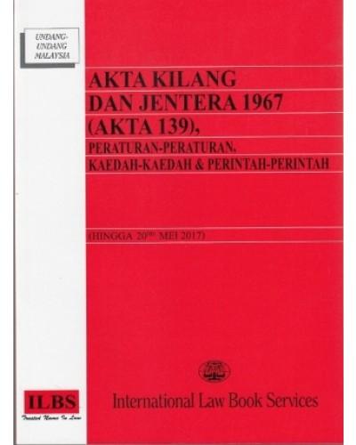 Akta Kilang Dan Jentera 1967 Akta 139