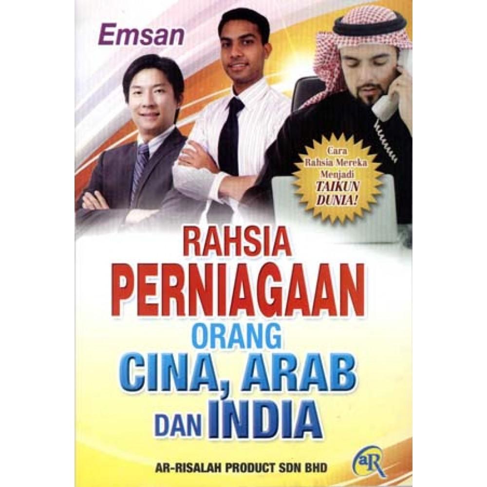 RAHSIA PERNIAGAAN ORG CINA,ARAB,INDIA