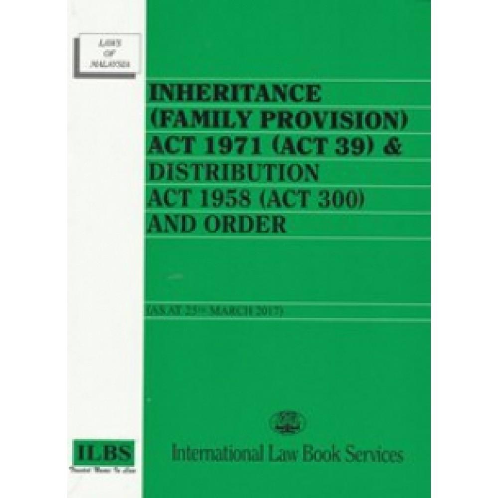 INHERITANCE(F/P) ACT 1971(ACT 39)