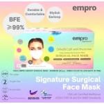 EMPRO SURGICAL FACE MASK 50'S (RAINBOW)