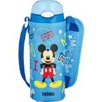 THERMOS DISNEY ULTRA LIGHT STRAW BOTTLE WITH POUCH 400ML