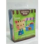 布咕商店街:小貓冰淇淋(材料盒)