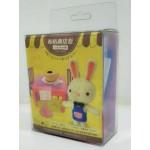 布咕商店街:小兔咖啡廳(材料盒)