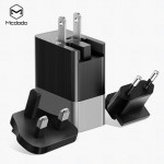 MCDODO CH534 3 USB UNIVERSAL TRAVEL ADAPTER 3.4A ( BLACK)