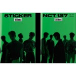 NCT 127 - 3RD ALBUM: STICKER (STICKY VER.)  [Pre-order 2 Version and above, get rebate 20%]