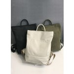 CANVAS BACKPACK (RANDOM COLOUR)