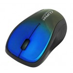 CLIPTEC RZS856S XILENT II WIRELESS SILENT MOUSE - BLUE/BLACK