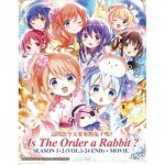IS THE ORDER A RABBIT? S1+2+MOVIE (5DVD)