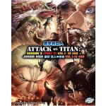 ATTACK ON TITAN S3 PT2+JUNIOR HIGH (3DVD)