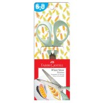 FABER-CASTELL WHEAT STRAW SCISSORS 170mm