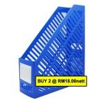"POP BAZIC PP MAGAZINE HOLDER 3"" BLUE"