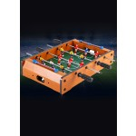 PORTABLE WOODEN TABLE TOP FOOTBALL GAME