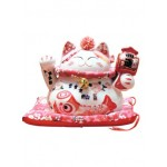 CERAMIC LUCKY CAT HOME DECOR 17*10*14CM