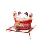 CERAMIC LUCKY CAT HOME DECOR 16*10*13CM
