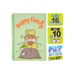 WIN WIN NOTE BOOK A5 80GSM 72'S -HAPPY FAMILY