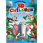 3D CHILDREN KIDS SING-A-LONG SONGS(CD+DVD)
