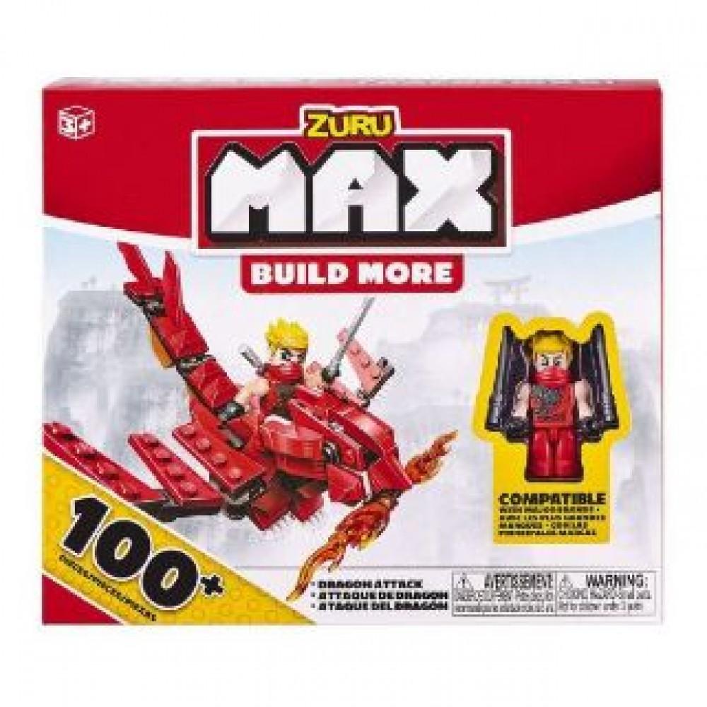 ZURU MAX BUILD MORE 100 ASSORTED (RANDOM PICK)