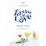 TWICE - 10th Mini Album: Taste of Love (Fallen - Blue Ver.)