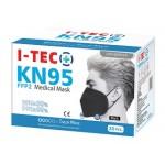 I-TEC KN95 FFP2 MEDICAL MASK 20'S (BLACK)