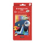 STAEDTLER LUNA WATERCOLOUR PENCILS - 12 COLOURS