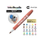ARTLINE DECORITE BRUSH EDF-F, BROWN