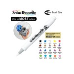 ARTLINE DECORITE BRUSH EDF-F, WHITE