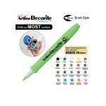 ARTLINE DECORITE BRUSH EDF-F, YELLOW GREEN