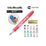 ARTLINE DECORITE BRUSH EDFM-F, METALLIC RED