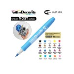 ARTLINE DECORITE BRUSH EDFM-F, METALLIC BLUE