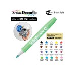 ARTLINE DECORITE BRUSH EDFM-F, METALLIC GREEN