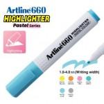 ARTLINE EK-660 PASTEL HIGHLIGHTER 1-4MM PASTEL BLUE