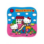 Hello Kitty 42片拼图:玩溜滑梯