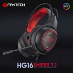FANTECH HG16 SNIPER VIRTUAL 7.1 SURROUND OVER-EAR RGB GAMING HEADPHONE