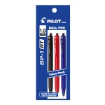 PILOT BP-1RT Ball Pen Medium Assorted Colour (3 Pieces in Pack)