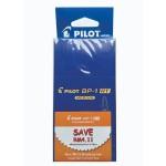 Pilot BP-1RT Ball Pen Medium Blue in Dozen Pack (12 pieces)
